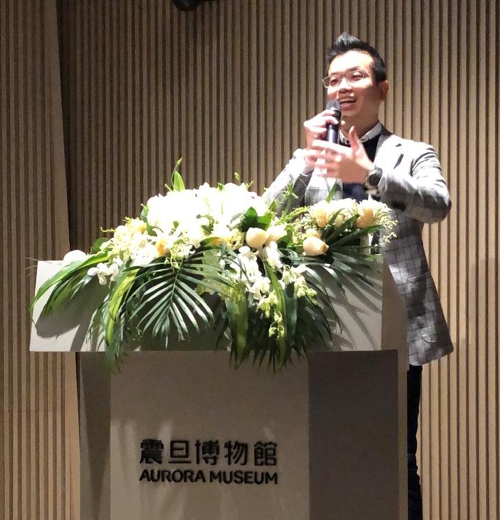 鸿合科技股份有限公司总裁李建宏先生发表致辞