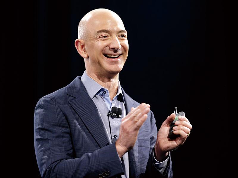 亚马逊公司创始人+杰夫‧贝佐斯