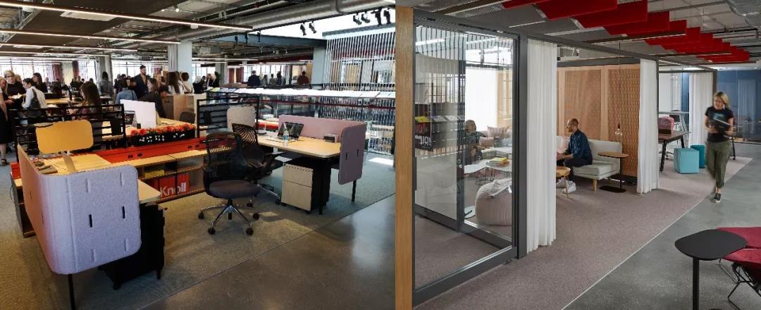 Knoll展厅 (图片来源:震旦创新中心 & knoll.com)